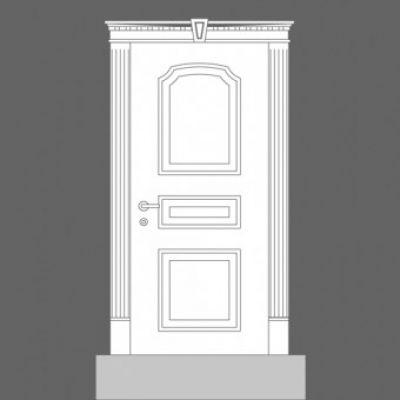 дверная панель Orac Decor Door Inspiration 6 Housemaster